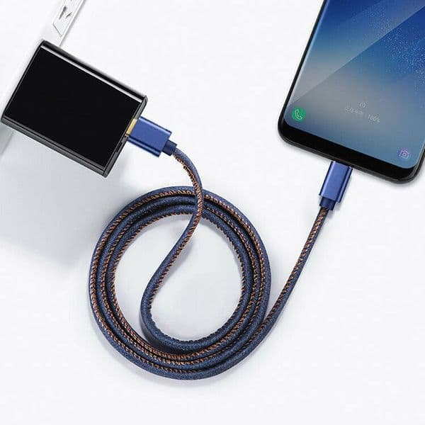 Denim Lightning Cable for Apple iPhone or iPad